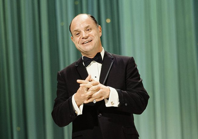 """Don Rickles was a beloved comedian, known as """"Mr. Warmth"""" for his brand of insult comedy, but he was also known for never going too far with his insults, keeping them light-hearted. In 1972 he starred in his own sitcomThe Don Rickles Show and was a staple on talk shows such as The Tonight Show. […]"""