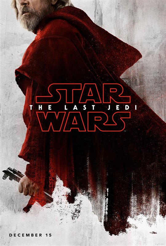 Star Wars: The Last Jedi Luke poster