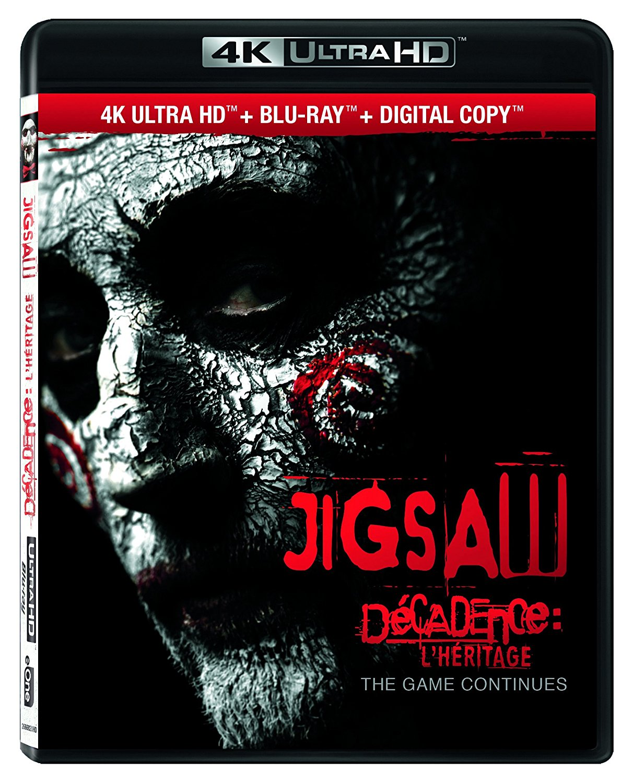 Jigsaw 4K Blu-ray
