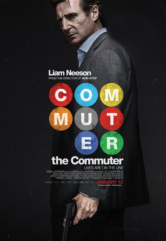 Liam Neeson stars in The Commuter
