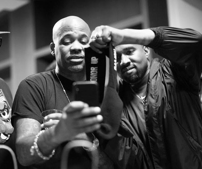 Damon Dash and Kanye West
