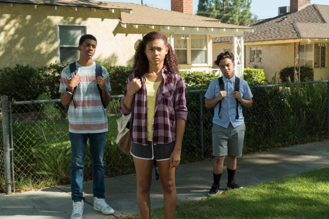Four bright, street-smart kids navigate their way through high school in the tough neighborhood of South Central Los Angeles, in the new series On My Block.