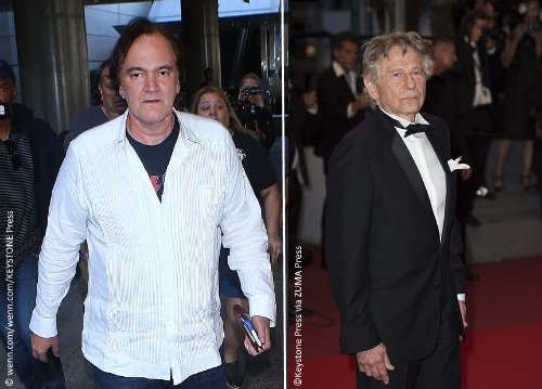 Quentin Tarantino and Roman Polanski