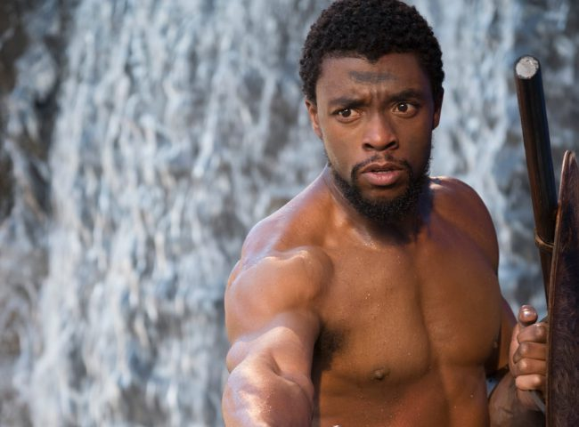 Chadwick Boseman first won our hearts when he starred as Jackie Robinson in the baseball biopic, 42. His confidence and sheer masculinity immediately gave him hunk status. So when he bulked up to play the title role in Black Panther, his sex appeal went through the roof.