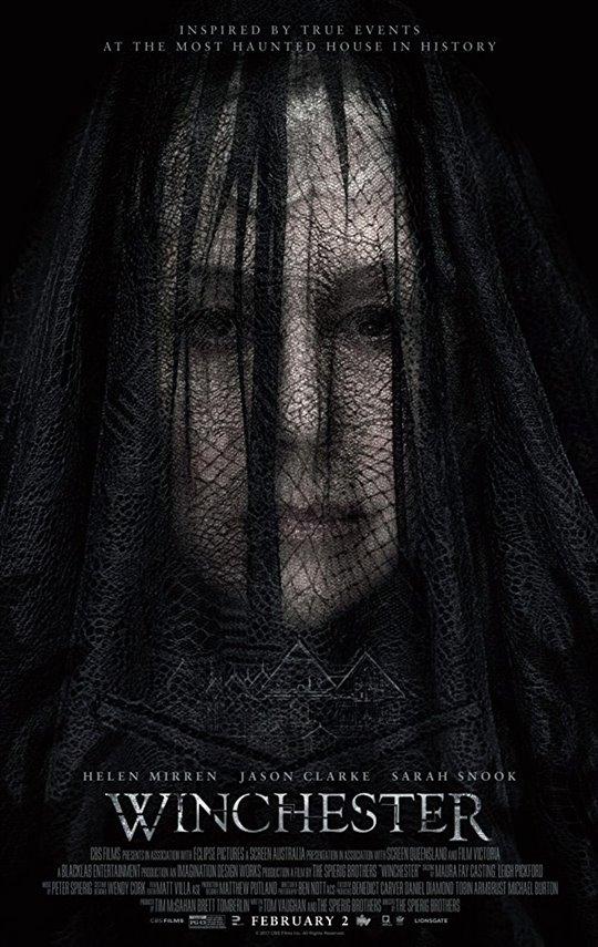Winchester starring Helen Mirren