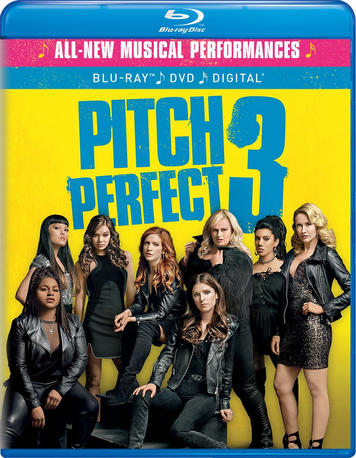 Pitch Perfect 3 on Blu-ray