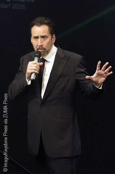 Nicolas Cage cast as Superman