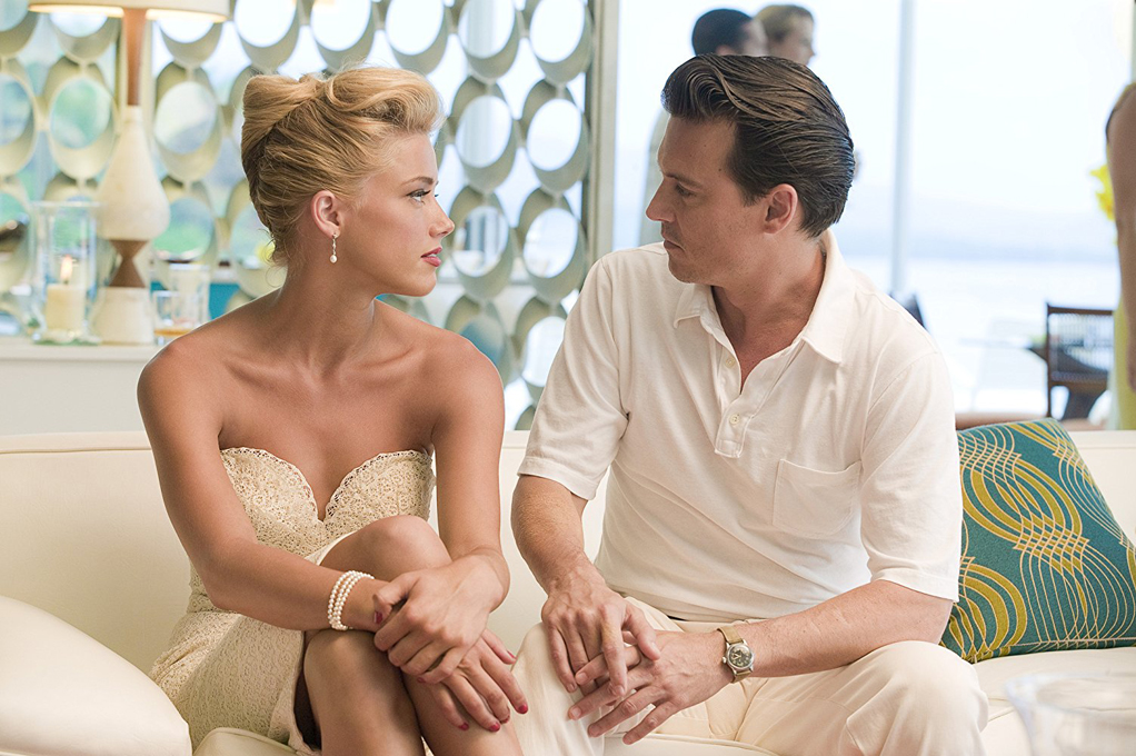 Amber Heard and Johnny Depp in The Rum Diary © 2011 FilmDistrict