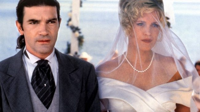 It was love at first sight in 1995 for Melanie Griffith and Antonio Banderas on the set of their romantic comedy Two Much. However, both were actually married to different people at the time, and had to wait until their respective divorces were finalized before they could marry each other in May 1996. As their […]
