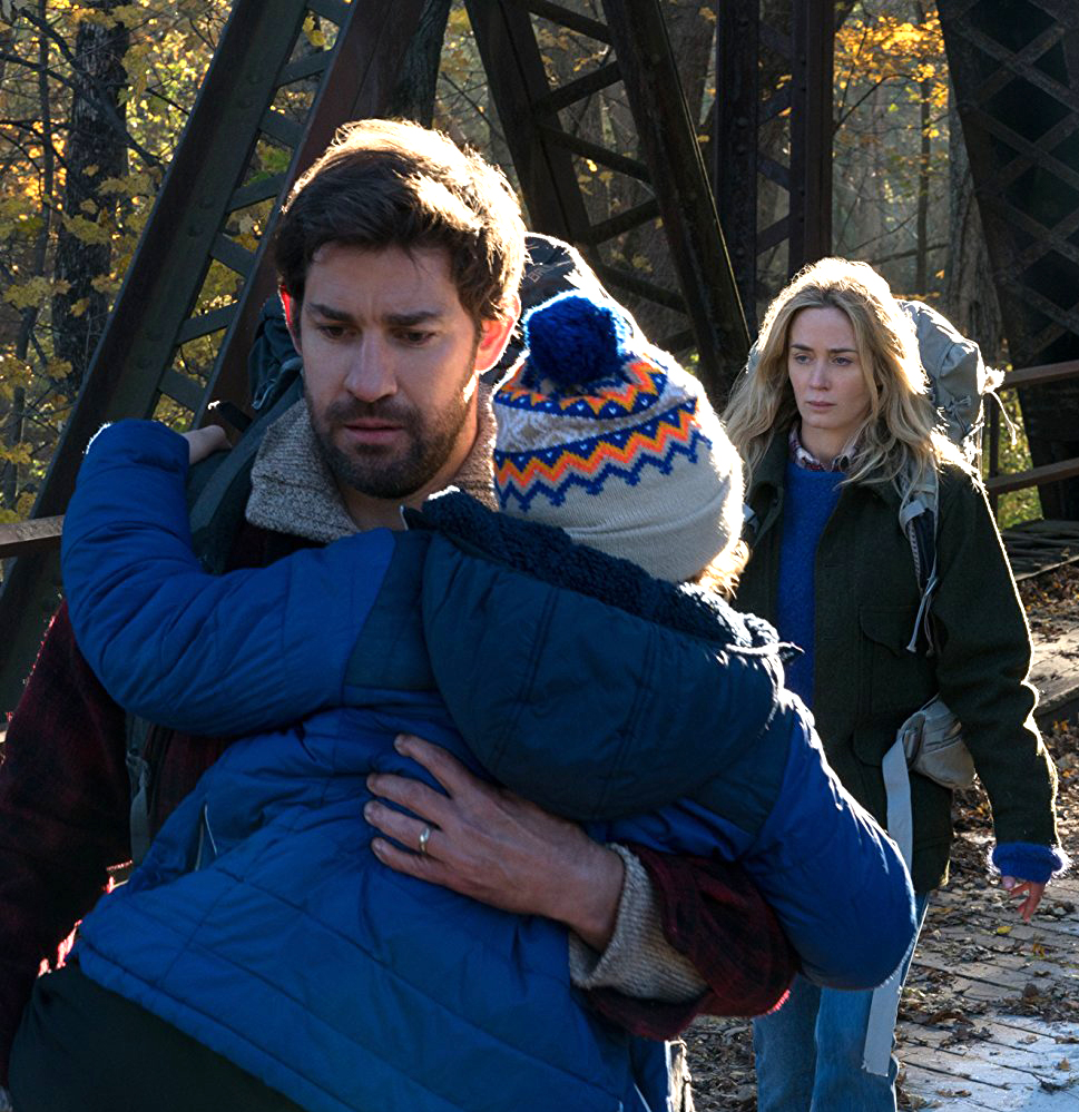 A Quiet Place starring John Krasinski and Emily Blunt