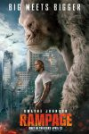 Rampage tears to top of weekend box office