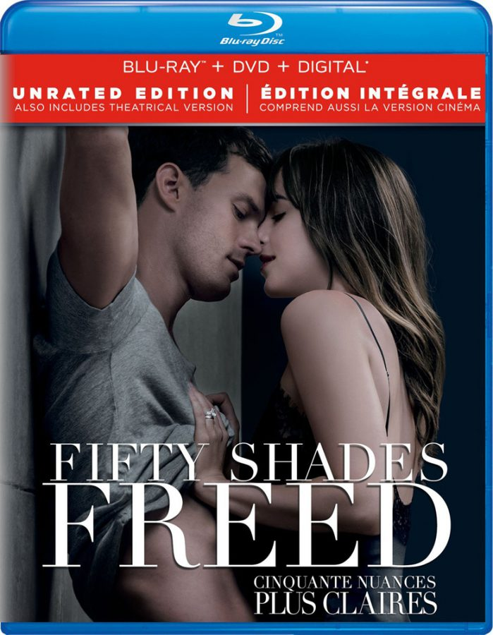 Fifty Shades Freed on Blu-ray and DVD