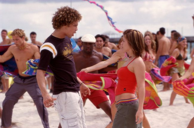 The chemistry between leads Justin Guarini and Kelly Clarkson was absolutely non-existent in this film that forced the two American Idol alumnis together in a beach party musical.