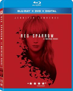 Red Sparrow on Blu-ray and DVD
