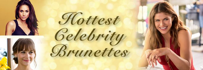 We all know Hollywood is full of beautiful blondes (we're looking at you, Reese Witherspoon) but what about all those sexy brunettes? Here is our list of some of the hottest dark-haired ladies Hollywood has to offer. Did we miss any of your favorite brunette beauties? Let us know in the comments below!~Ari Derin