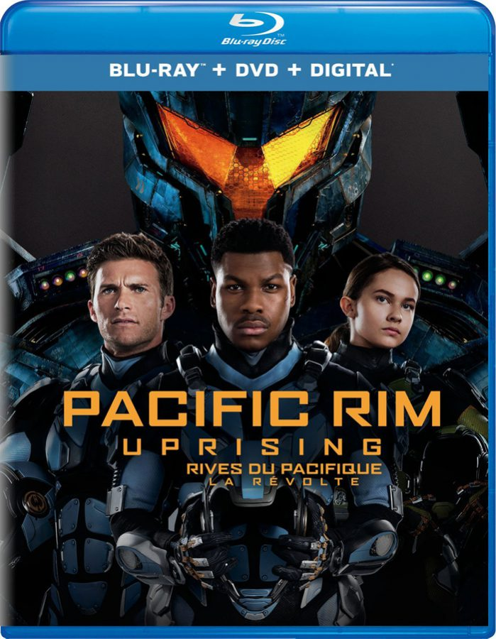 Pacific Rim Uprising on Blu-ray and DVD