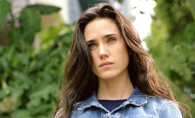 Jennifer Connelly has striking green eyes that see into your soul, and a single distinctive freckle above her lip. Since her breakthrough role as Alecia Nash in A Beautiful Mind, she hasn't stopped working.