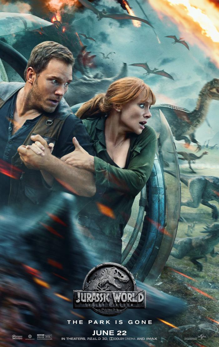 Jurassic World: Fallen Kingdom poster