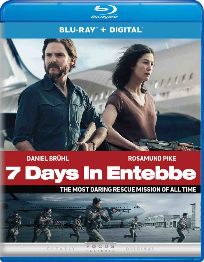 7 Days In Entebbe on Blu-ray and DVD