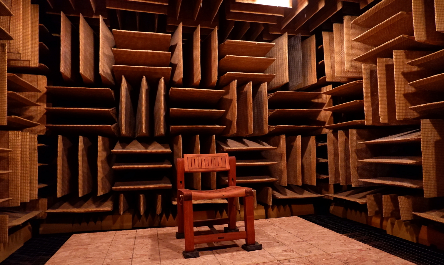Anechoic Chamber at Orfield Laboratories