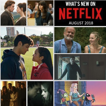 What's New on Netflix Canada - August 2018