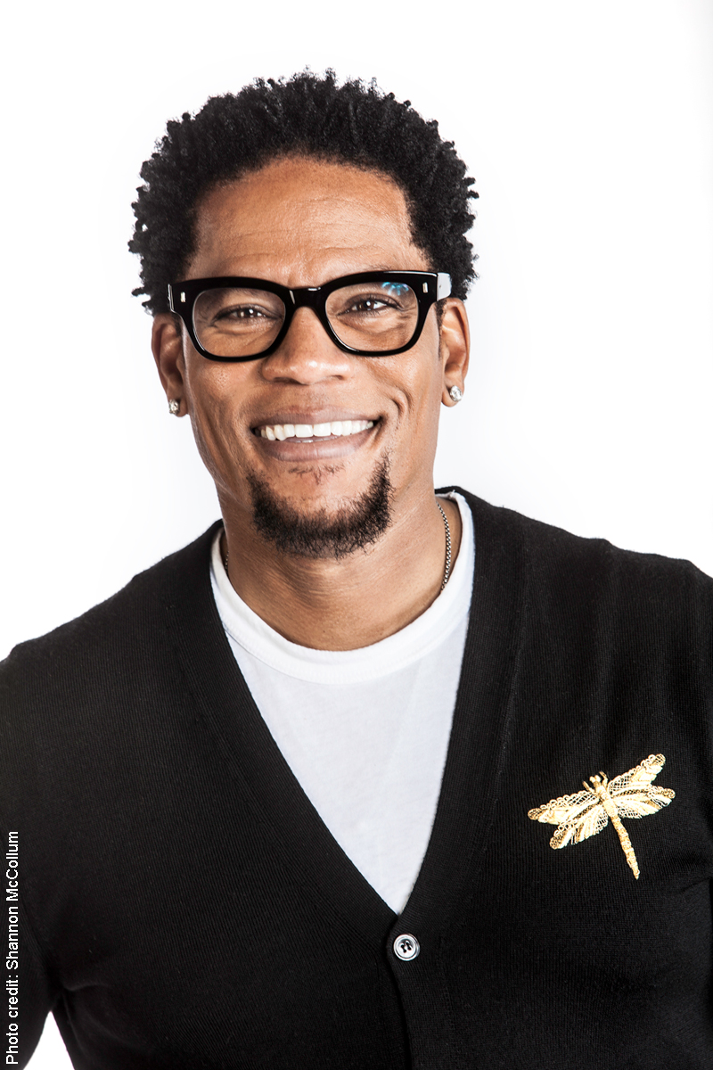 D.L. Hughley portrait by Shannon McCollum
