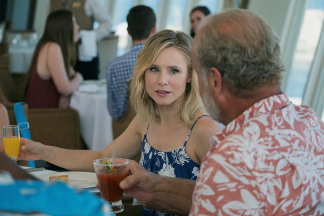 Workaholic Rachel (Kristen Bell) is surprised when her estranged father (Kelsey Grammer), who's also a workaholic, shows up unannounced. She's even more surprised when she's left at the altar. Rachel and her dad get drunk and she invites him on her Caribbean honeymoon cruise. She discovers to her horror what she's done the next day […]