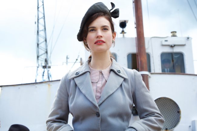 It's post-World War II in London, and young author Juliet Ashton (Lily James) is busy promoting her book. Her publisher has all kinds of promotional events set up for her, but when she gets a letter from a member of The Guernsey Literary and Potato Peel Pie Society, her curiousity is piqued and she decides […]