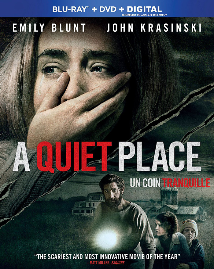 A Quiet Place now on DVD and Blu-ray