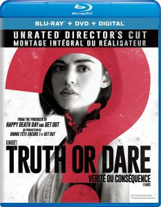 Truth or Dare on DVD/Blu-ray