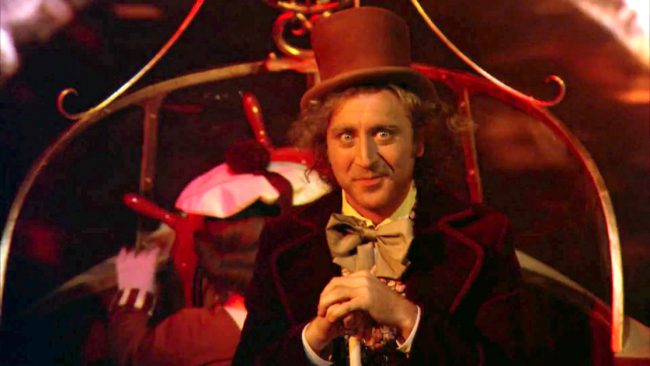 In one scene, Willy Wonka has ushered his guests onto a boat for what seems like an innocent enough ride through the factory. Once they enter a dark tunnel, however, Wonka transforms into a dead-eyed maniac who recites terrifying verses of rhyme. At the same time, lights start flashing and disturbing images appear on the […]