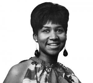 Aretha Franklin via Wiki Commons