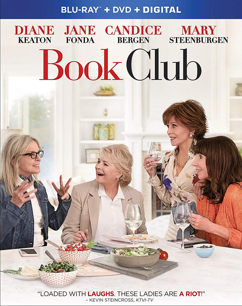 Book Club on Blu-ray and DVD