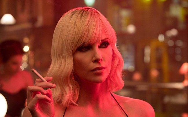 Ever since she played Aeon Flux, Charlize Theron is forever considered a badass in our books. More recently, Charlize starred in Atomic Blonde as a CIA agent posing as an MI6 agent. We'd say that makes her pretty tough.