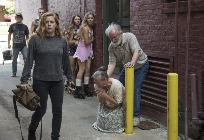 In the first episode, Amy is among the first few to discover the body of Natalie Keene perched on a windowsill. This scene was shot in an alley off Main Street alley. It's a narrow path and this alley is seen later in the film when the town creates a makeshift memorial for Natalie. For […]