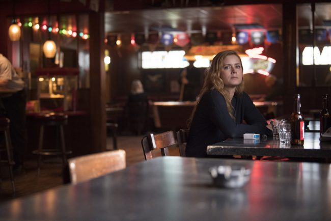 While the interior of the bar was shot elsewhere, this is a scene when Camille (Amy Adams) visits the bar and chats with Detective Willis about the case.