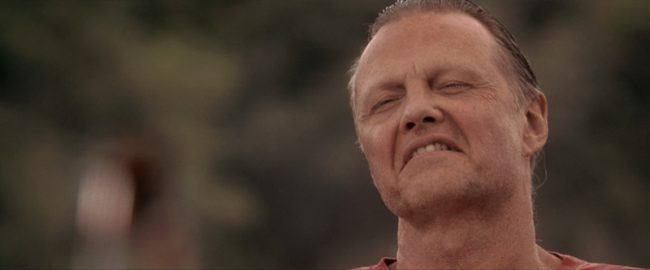 Jon Voight's character in Anaconda is supposed to be Spanish, but his terrible accent combined with his phoned-in acting is much closer to a really poor Tony Montana impression than anything else.