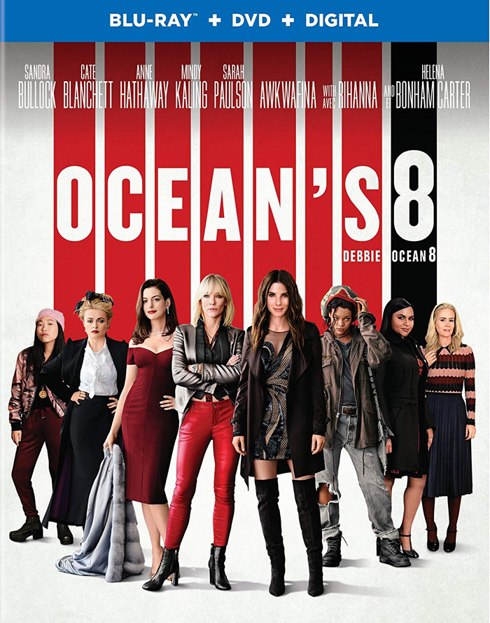 Ocean's 8 on Blu-ray and DVD