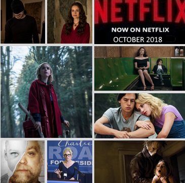 What's New on Netflix - October 2018