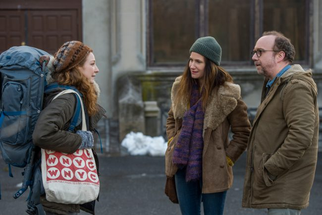 Middle-aged couple Richard (Paul Giamatti) and Rachel (Kathryn Hahn) desperately want to have a baby, but are struggling with infertility. After the emotional and economic upheaval of in vitro fertilization, they're at the end of their rope with their relationship on edge, but when Sadie (Kayli Carter), a recent college dropout, enters their life, possibilities […]