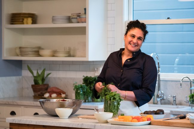 This four-part series stars Samin Nosrat and is based on her best-selling, award-winning book, Salt Fat Acid Heat, which is the essential guide to the basic elements of good cooking. Samin travels to home kitchens in Italy, Japan, Yucatán and back to Berkeley's Chez Panisse — where she started her culinary career — to demystify […]