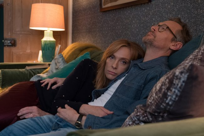 Bored with her marriage, unorthodox therapist Joy Richards (Toni Collette) tells her husband Alan (Steven Mackintosh) she wants to sleep with other people, despite claiming to still be in love with him. He reluctantly agrees, and they each have a series of affairs.