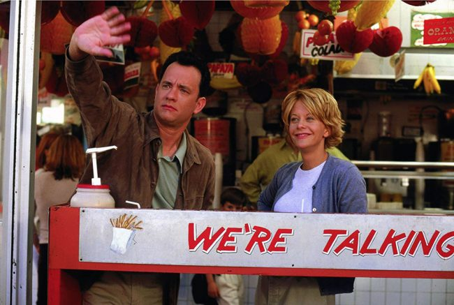 Before internet dating was ever a reality, Meg Ryan and Tom Hanks turned to good old fashioned email for their passionate correspondence. They didn't have access to Tinder or Bumble back in 1998 – where else were they supposed to orchestrate their star-crossed digital love affair?