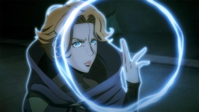 Inspired by the video game, Castlevania is an animated dark medieval fantasy series following vampire hunter Trevor Belmont (Richard Armitage), who is trying to save Eastern Europe from extinction at the hand of Dracula and his army of otherworldly creatures.