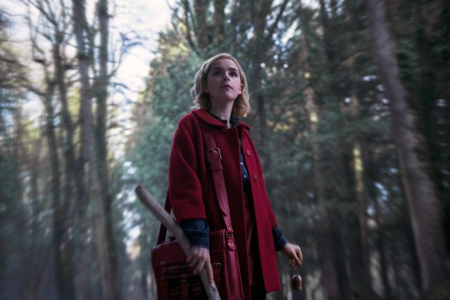 On her 16th birthday, half-human, half-witch Sabrina Spellman (Kiernan Shipka) has to choose between the dark magic world of her Aunt Zelda (Miranda Otto) and Aunt Hilda (Lucy Davis) or the human world of her friends, including her boyfriend, Harvey Kinkle (Ross Lynch). Based on the Archie comics and created by Roberto Aguirre-Sacasa, who also […]