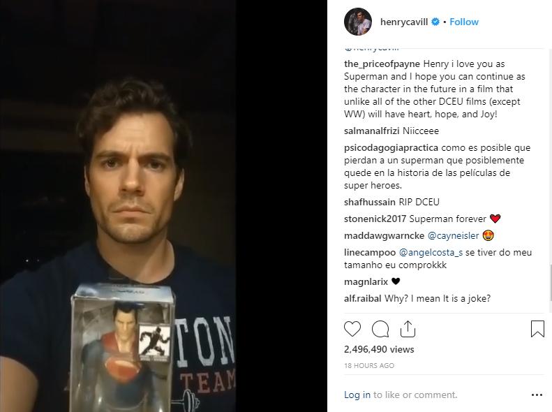 Henry Cavill Instagram