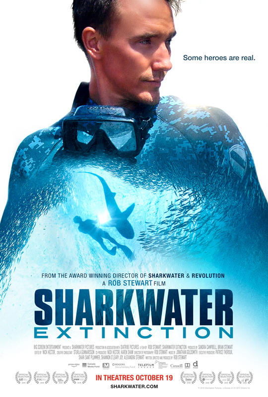 Sharkwater Extinction opens October 19