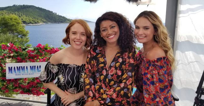 The actresses chat with Marriska Fernandes about their favorite Mamma Mia! Here We Go Again songs, playing the young Dynamos and what they'd like to see in a third Mamma Mia! movie.