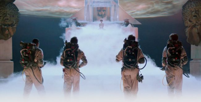 In the climactic scene of Ghostbusters, the team all use their proton packs and cross streams, despite understanding how perilous this act could be. This theory suggests the team actually died after attempting this dangerous feat. Thus, the busters are actually in purgatory in Ghostbusters II, which would explain why the city doesn't seem to […]
