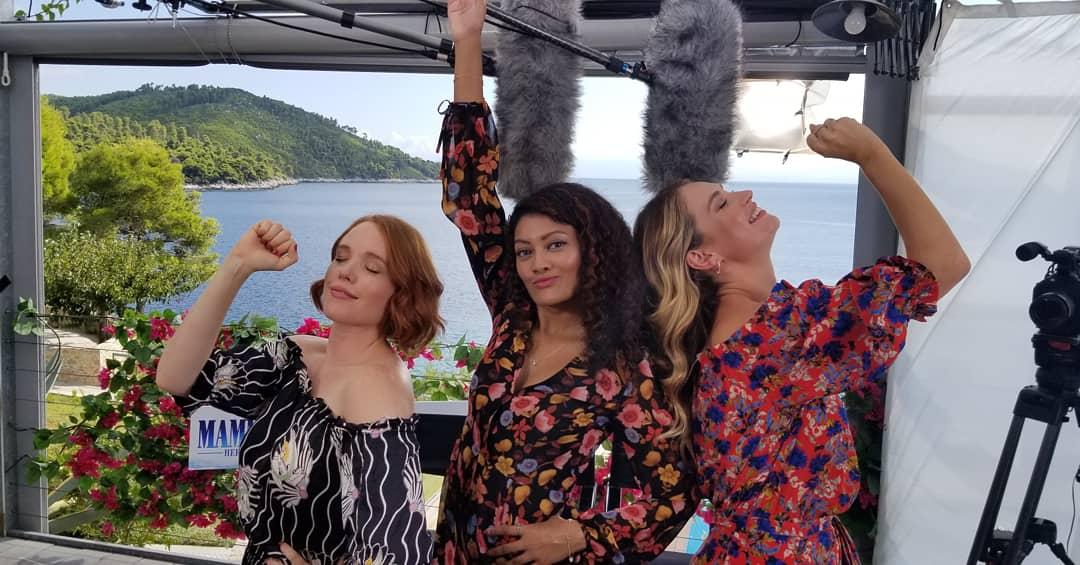 Mamma Mia! Here We Go Again - Jessica Keenan Wynn, Lily James and Marriska Fernandes